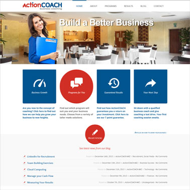 ActionCOACH Corporate Australia Online Marketing Results