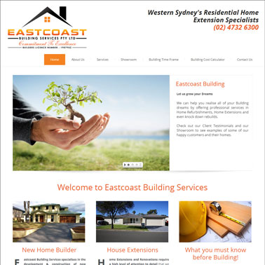 Eastcoast Building Services Online Marketing Results