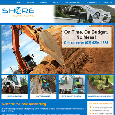 Shore Contracting Online Marketing Results