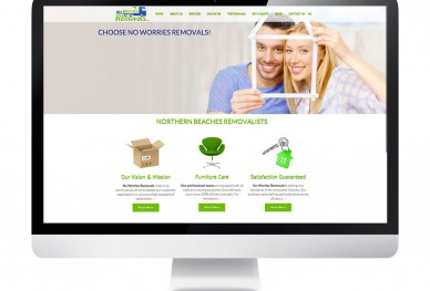 No Worries Removals Homepage