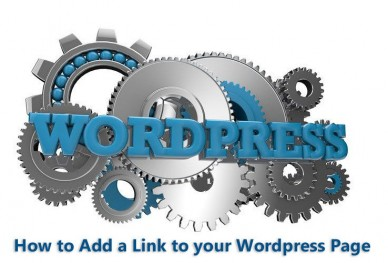 How to Add a Link to your Wordprses Page